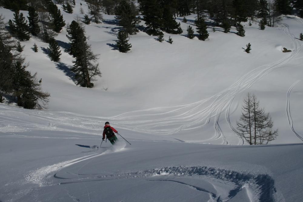 Hors-piste-Montgenèvre - One more time!