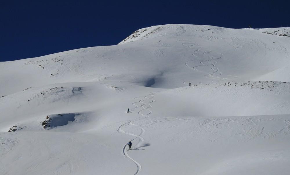 Ski de randonnée - Les Orres - Pas degueu