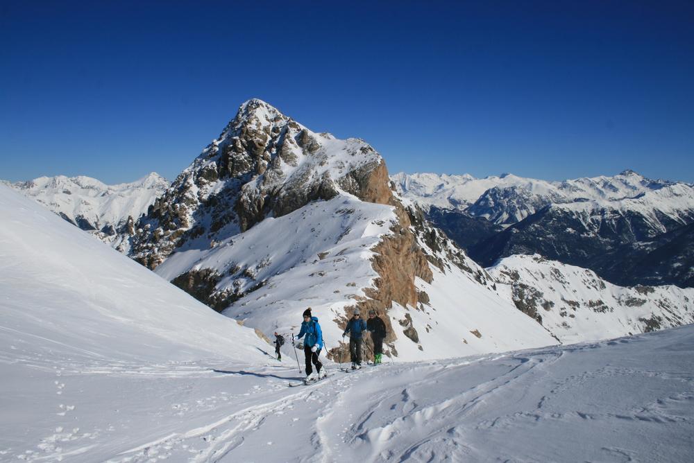 Cime de la Condamine - En direction du Col de Vallouise