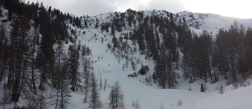 Ski de rando - Crête de la Seyte - Combe moelleuse