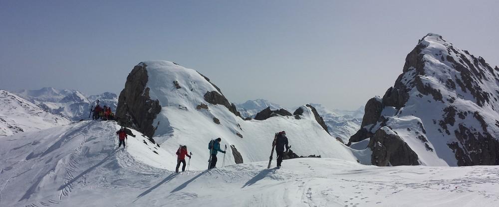 Raid Cerces - Tour du Queyrellin - Au sommet