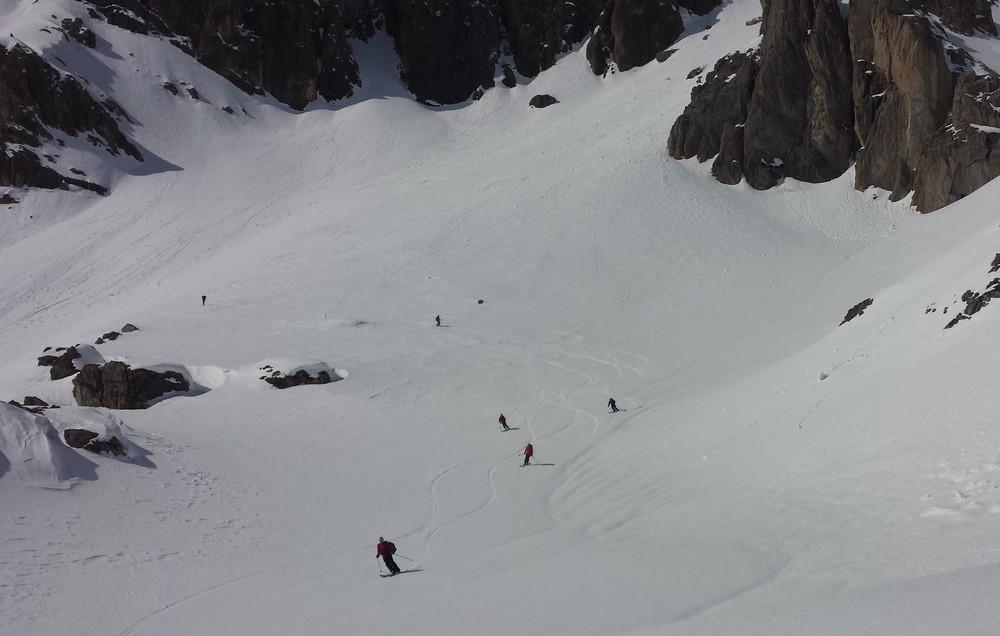 Raid Cerces - Tour du Queyrellin - Ski en bande
