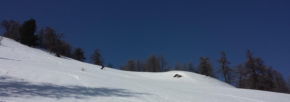 Raid Cerces - Tour du Queyrellin - Du ski joueur