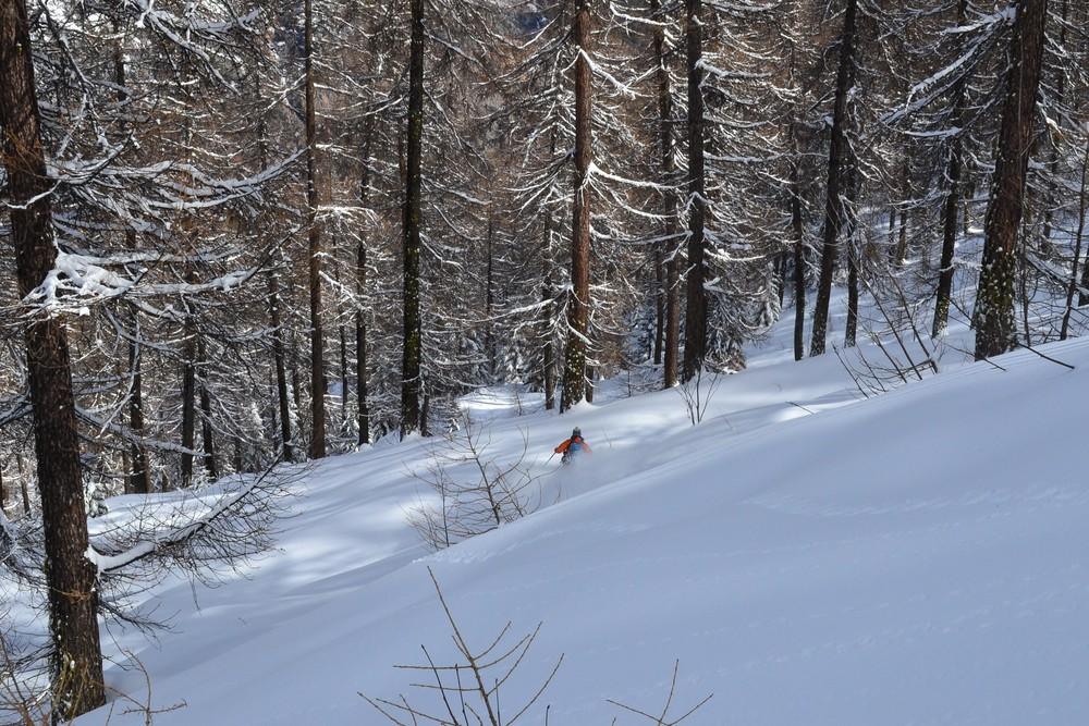 Ski de rando - Crête de la Seyte - Mouais, pas mauvais