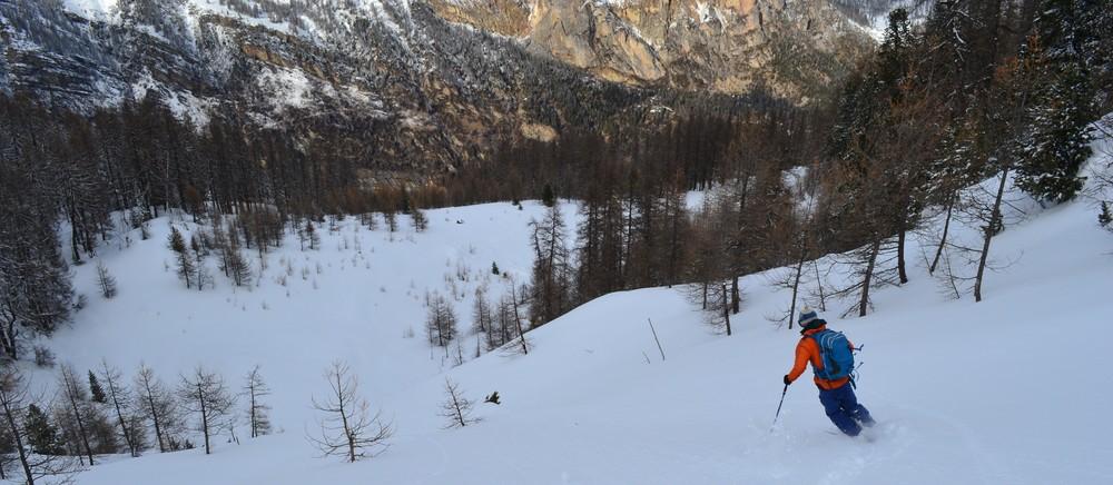 Ski de rando - Crête de la Seyte - Allez au boulot!