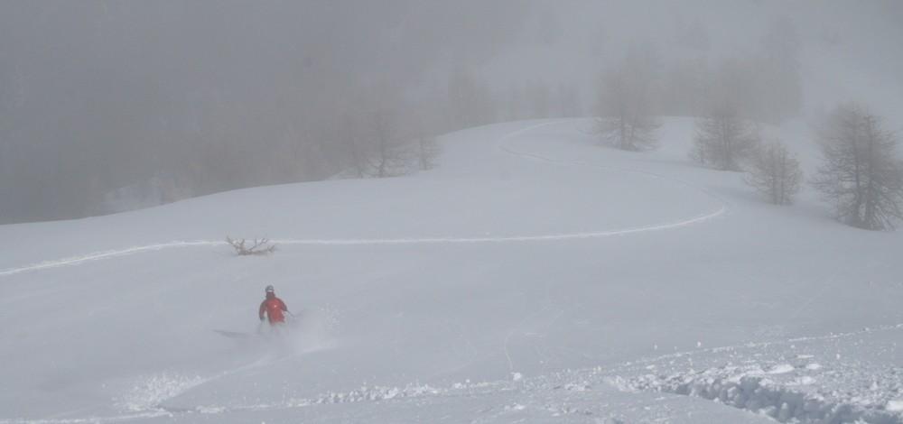 Ski de rando - Crête de la Seyte - Ju à la trace