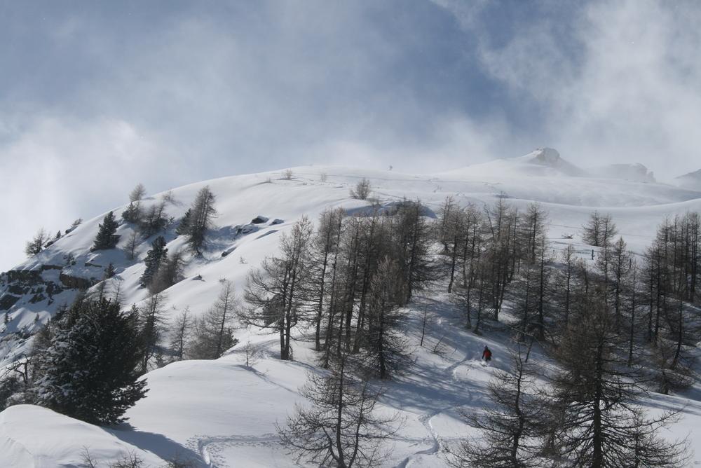 Ski de rando - Crête de la Seyte - Première partie pas dégueulasse