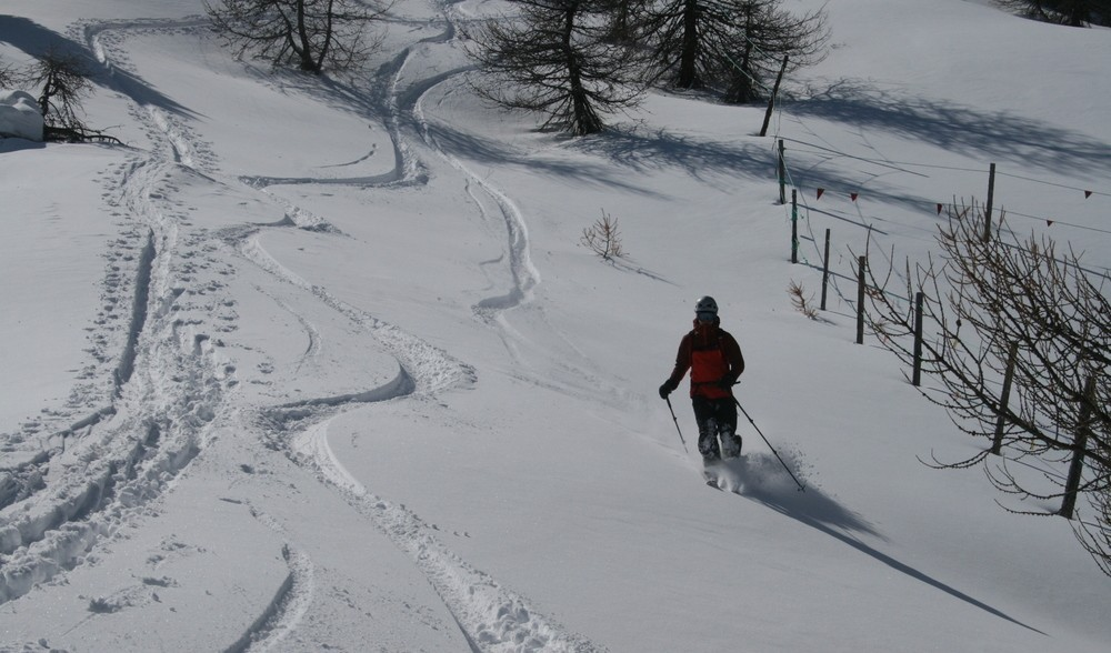 Ski de rando - Crête de la Seyte - Pas vilain