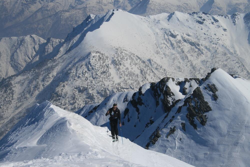 Mait-d'Amunt - Fin de la montée à la Maît