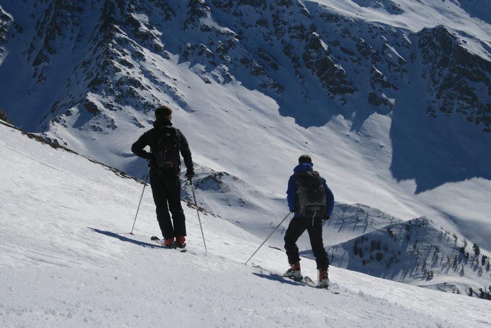 Raid ski Queyras - Pic Traversier - Pause contemplative