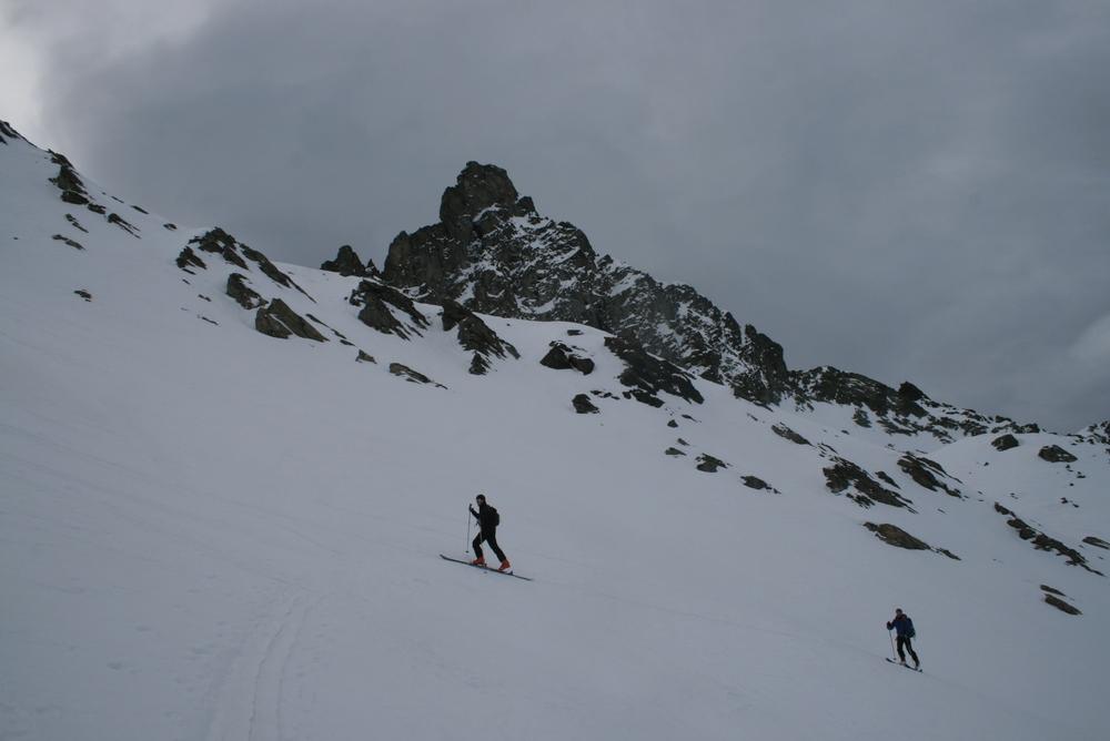 Raid ski Queyras - Tour des Toillies - Sous la Tête des Toillies