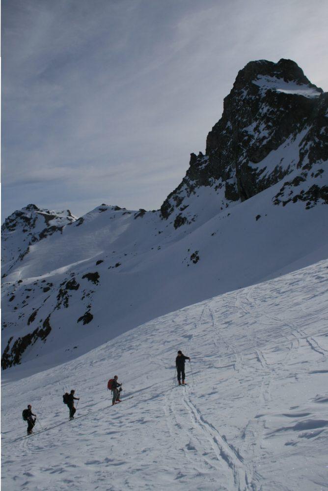 Raid ski Queyras - Tête du Longet - Toillies toujours