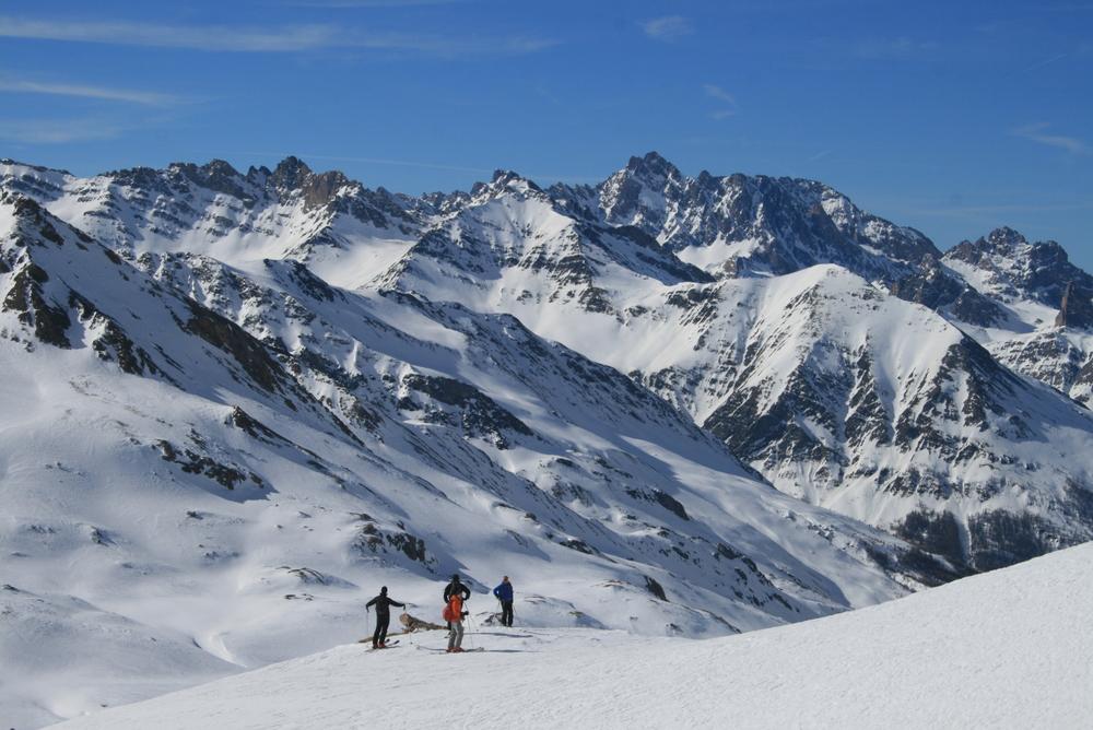 Raid ski Queyras - Tête du Longet - Dans la carte postale!