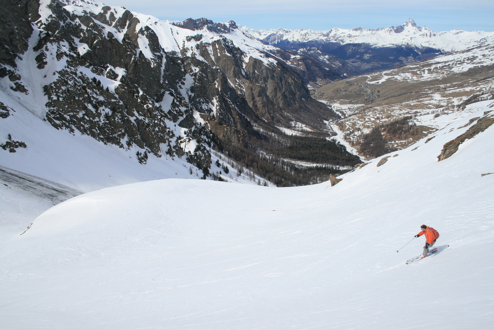 Raid ski Queyras - Tête du Longet - Tout bon