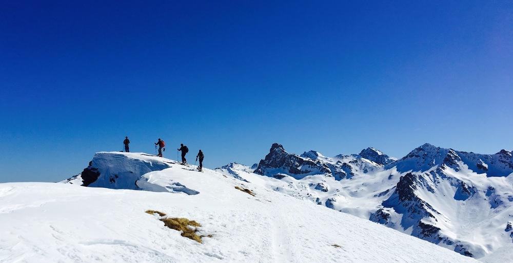 Raid à ski – Queyras