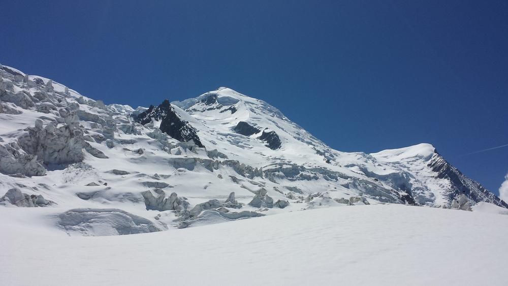 Mont-Blanc - Ski - L'itinéraire