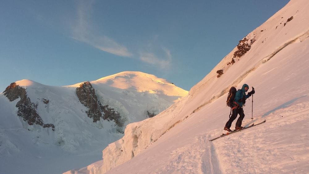 Mont-Blanc - Ski - Si prêt