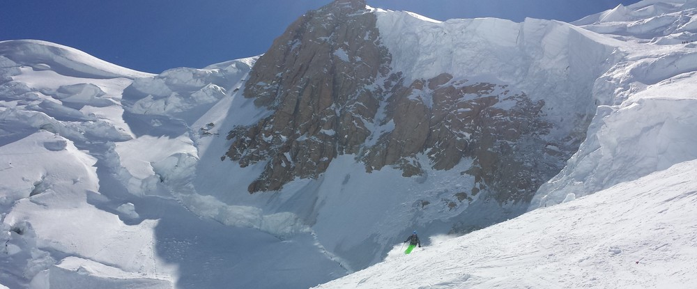 Mont-Blanc - Ski - Quelques séracs