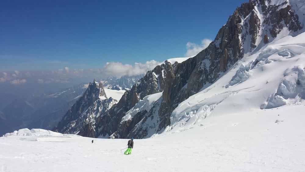 Mont-Blanc - Ski - Grand Plateau