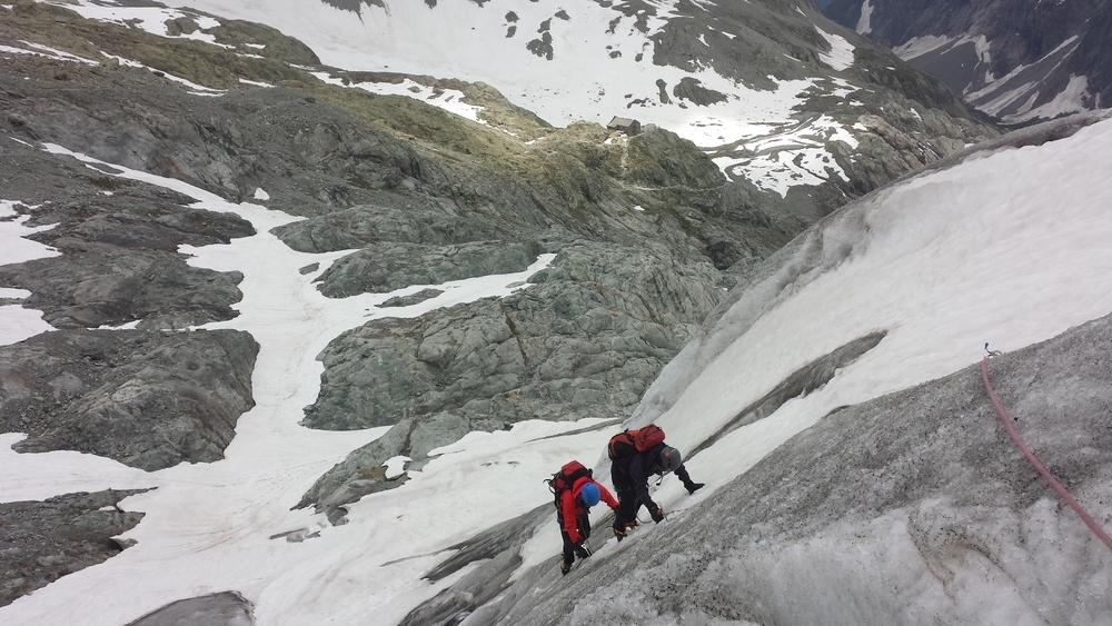 Initiation alpinisme - Ecole de glace