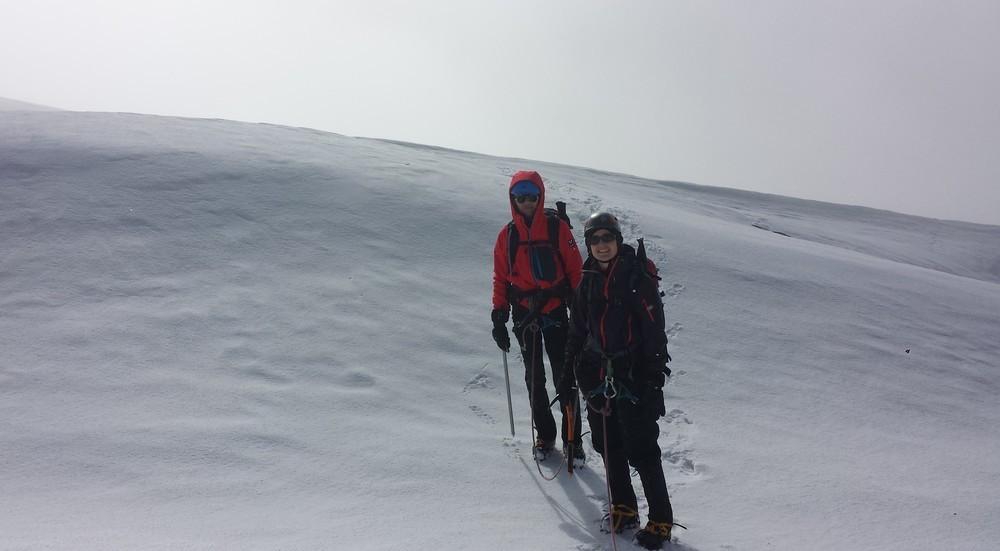 Initiation alpinisme - En plein désert?