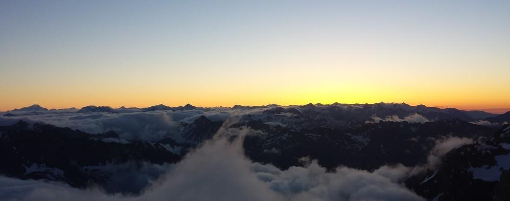 Initiation alpinisme - Volutes cotonneux