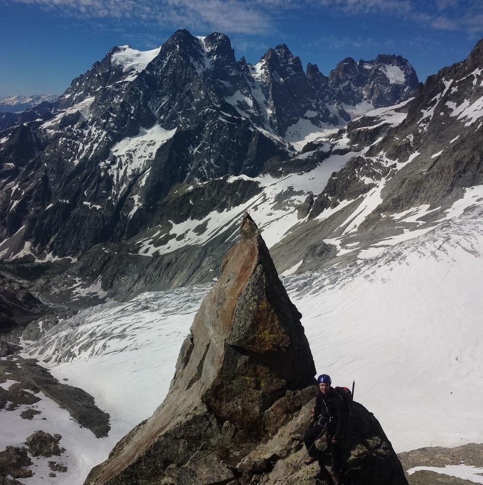 Stage autonomie - Max, arête sud du Pic du Glacier d'arsine