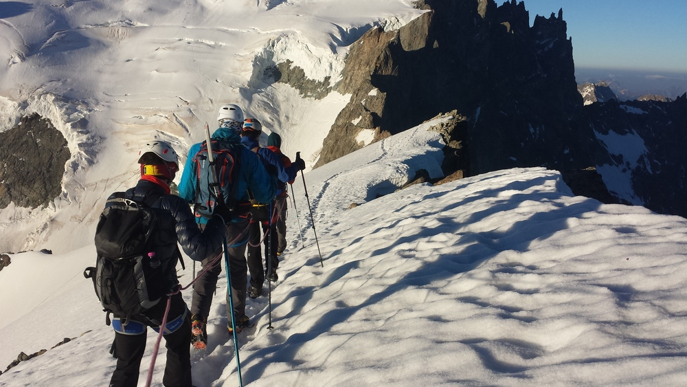 Initiation Alpinisme Roche Faurio