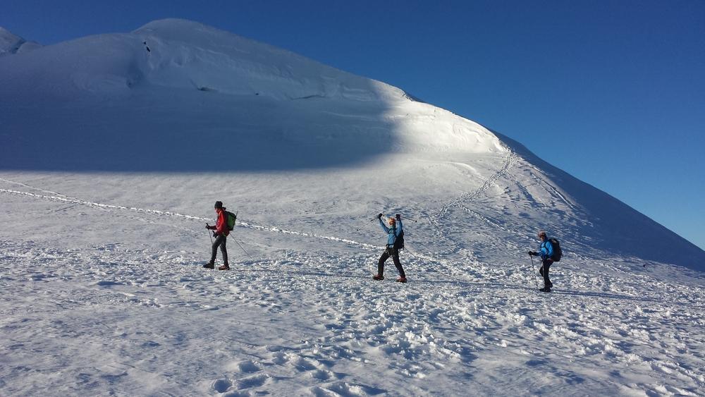 Mont-Rose - Ski - La cordée de Sylvain