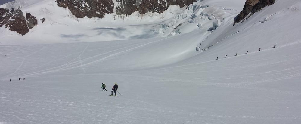 Mont-Rose - Ski - Qu'il est bon de se laisser glisser!