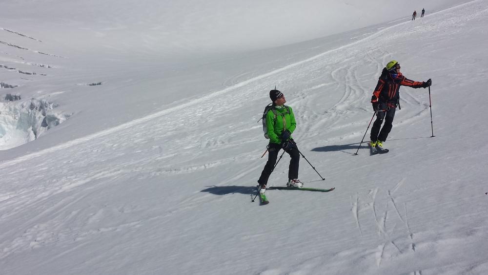 Mont-Rose - Ski - Mais que regardent ces deux là?