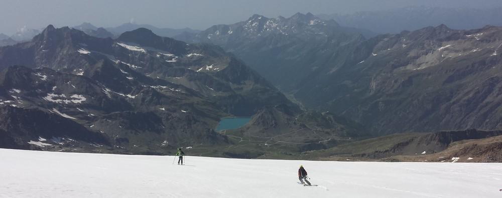 Mont-Rose - Ski - C'est l'été pas de doute!