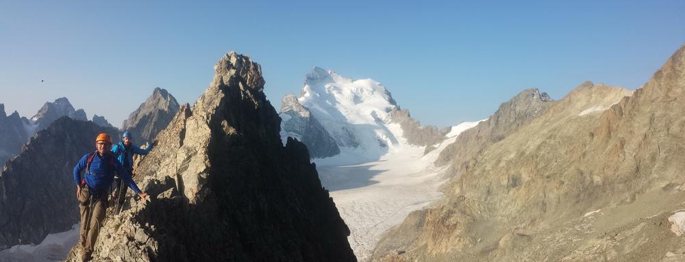 Stage initiation 5 jours- Arête sud Glacier Blanc - Panorama