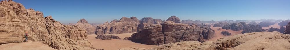 Jebel Um Ejil - Soumises - Vue vers le sud