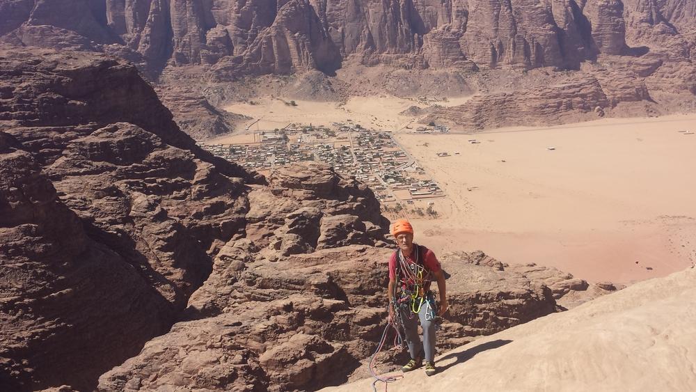 Jebel Um Ejil - Soumises - Au sommet