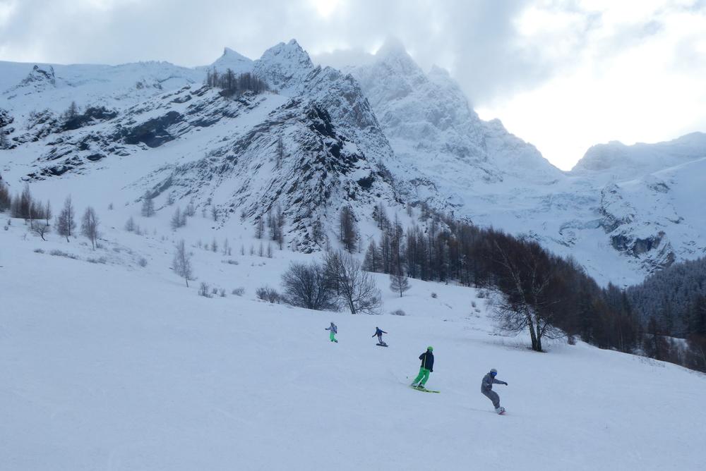 La Grave - Ski en bande