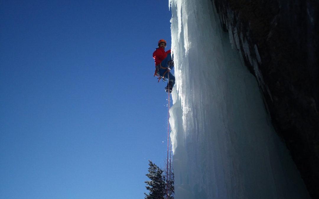 We cascade de glace