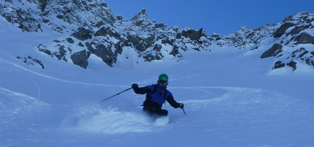 Pointe Charlet - Couloir nord - Yesss