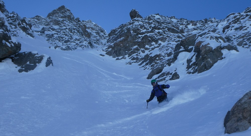 Pointe Charlet - Couloir nord - Excellent