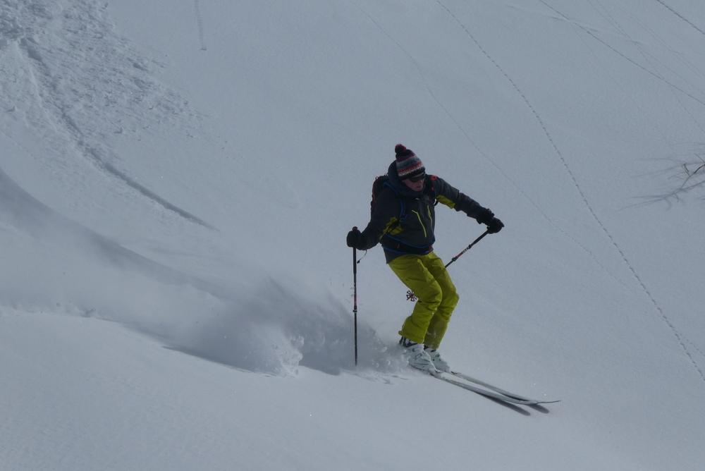 Ski randonnée Ubaye Fouillouse - Vers le Col de Mirandol - Pas mal ça!