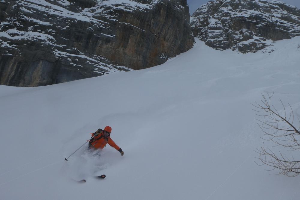Ski randonnée Ubaye Fouillouse - Tour du Replat des Genisses - C'est bon là!