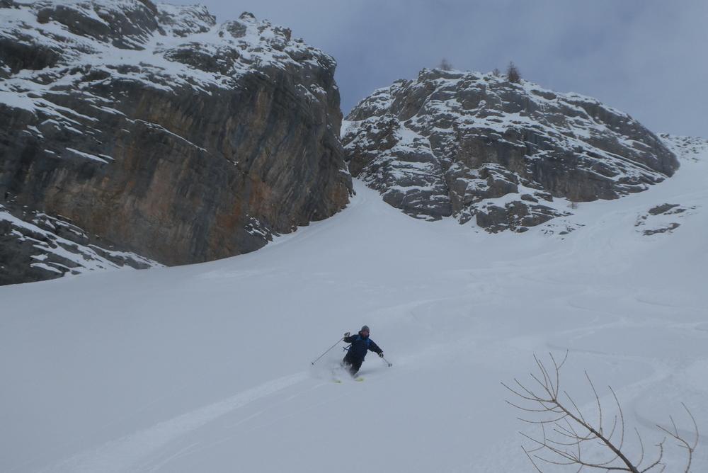 Ski randonnée Ubaye Fouillouse - Tour du Replat des Genisses - Que du très bon!