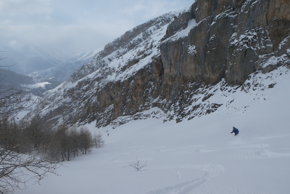 Ski randonnée Ubaye Fouillouse - Tour du Replat des Genisses - Karl