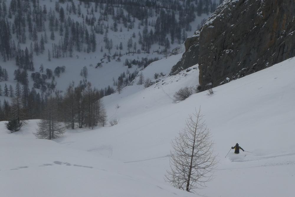 Ski randonnée Ubaye Fouillouse - Tour du Replat des Genisses - Tor