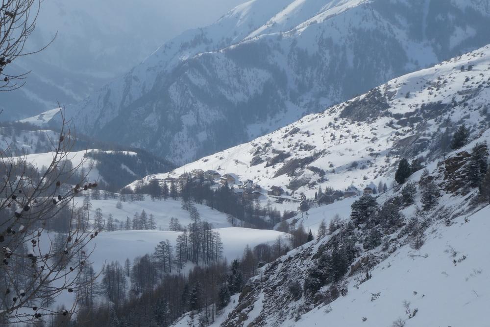 Ski randonnée Ubaye Fouillouse - Tour du Replat des Genisses - La métropole locale