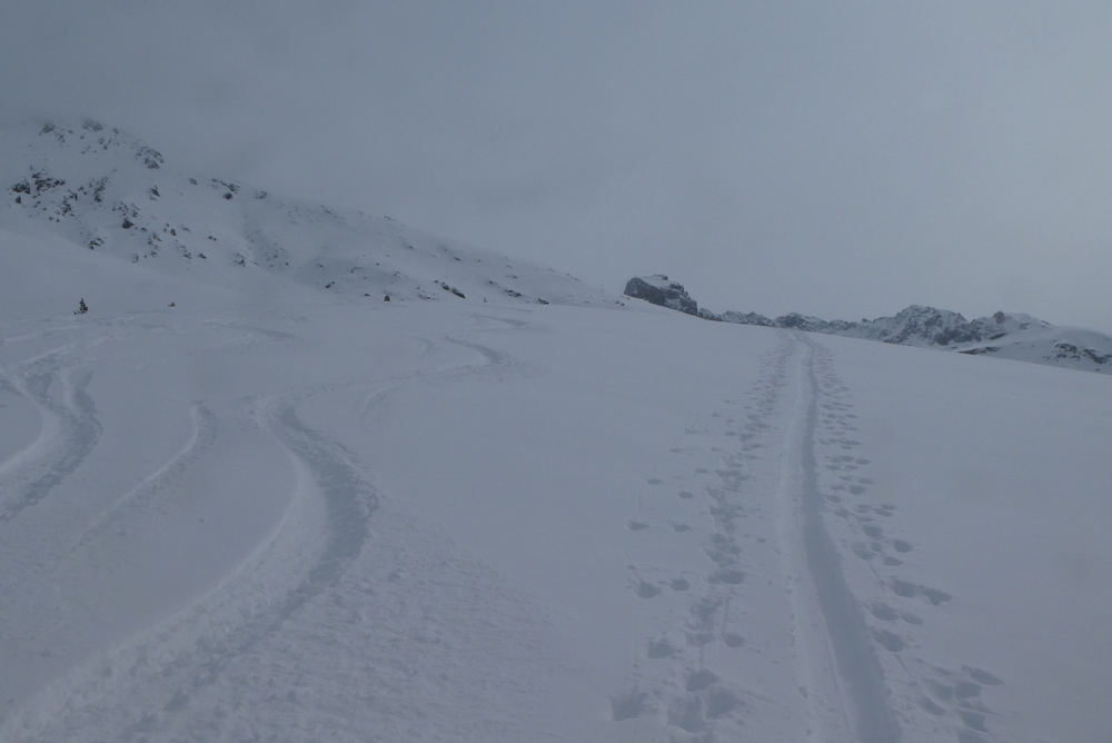 Ski randonnée Ubaye Fouillouse - La Sauvagea - Traces