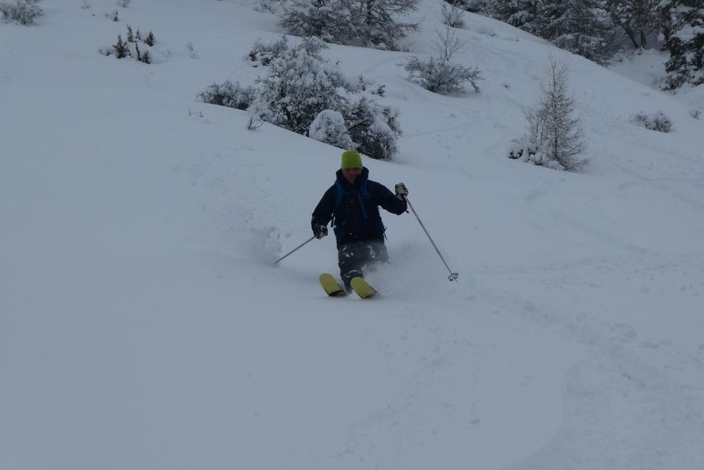 Ski hors piste Praloup