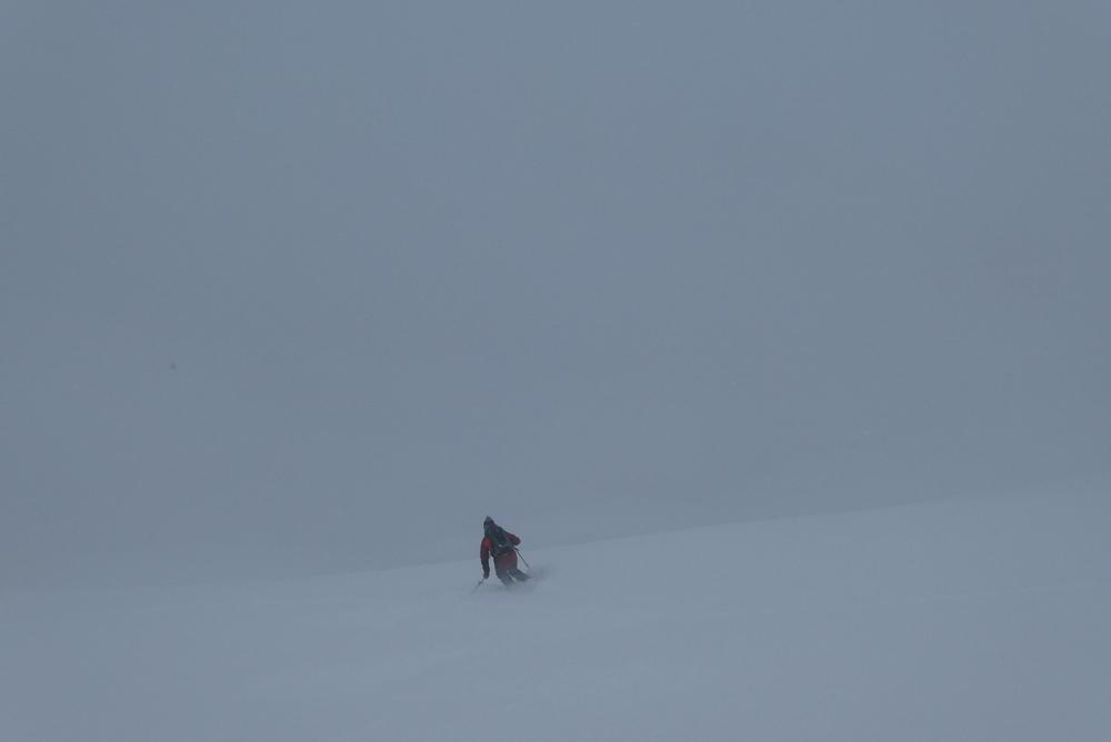 Free-rando-Crévoux - On a skié un nuage!