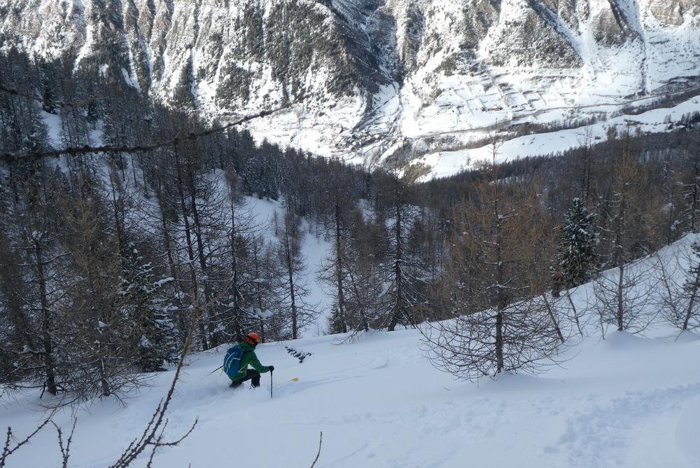 Free-rando-Crévoux - Trip forestier