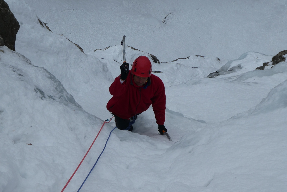 cascade de glace - Fracastorus - Jacob à l'oeuvre